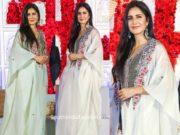 katrina kaif in anamika khanna at viky wadhwani wedding