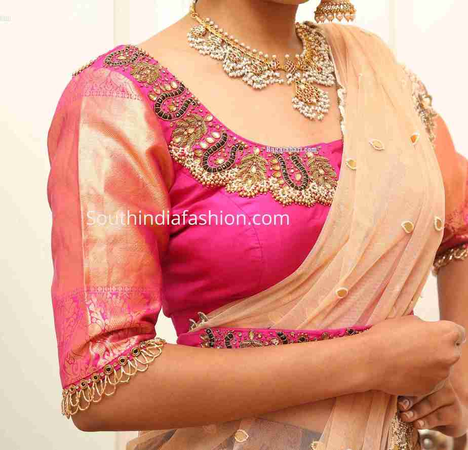 maggam work blouse patterns 2020