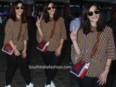 mehreen pirzadaa at airport western wear