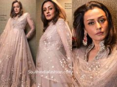 namrata shirodkar dress at anam mirza wedding reception