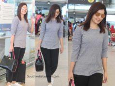 raashi khanna airport look