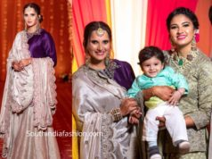 sania mirza at her sister anam mirza pre wedding mehendi function