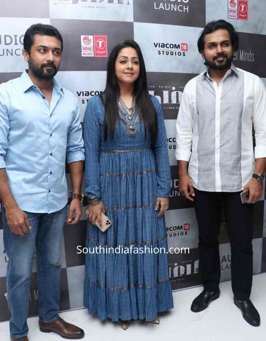 surya and jyothika at tambi audio launch (1)