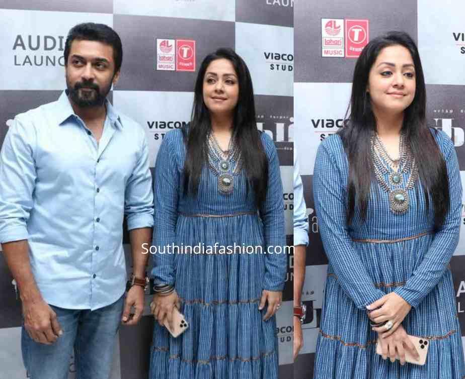 surya and jyothika at tambi audio launch