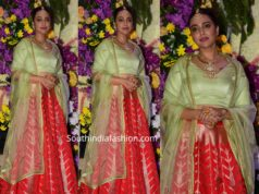 swara bhaskar lehenga at wedding reception (2)
