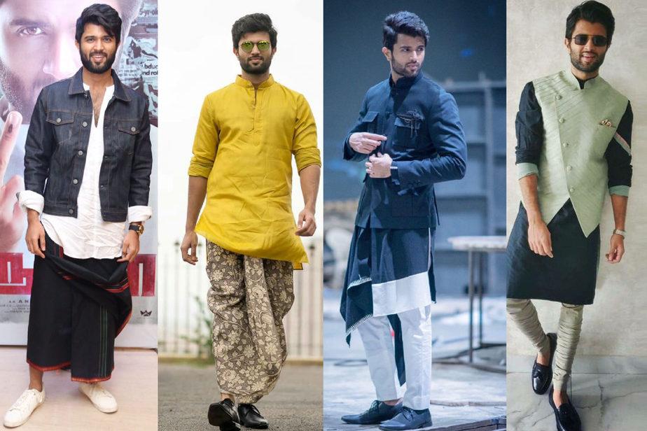 Vijay devarakonda's style - Tradiitonal