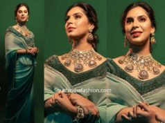 upasana konidela saree at anam mirza wedding (1)