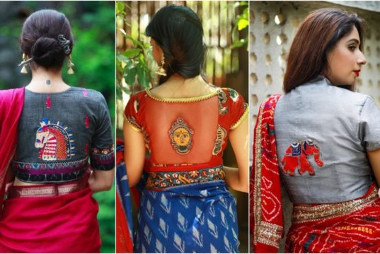 Style your Sarees with Quirky and Fun Blouses |