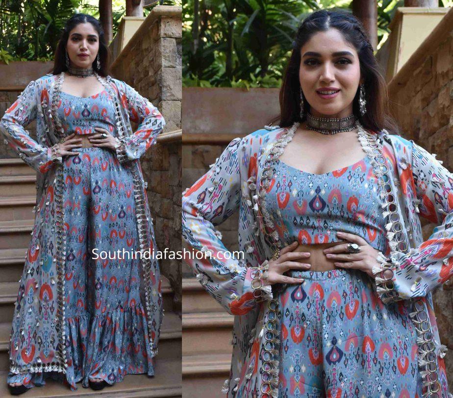 bhumi pednekar in payal singhal dress (1)