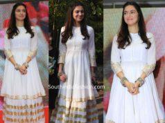 divya khosla kumar in white palazzo suit