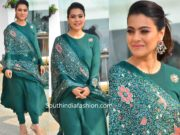 kajol in green anarkali suit at tanhaji promotions (1)