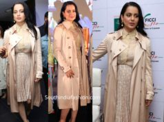 kangana ranaut in burberry trench coat