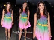 pooja hegde in short dress