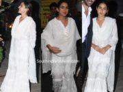 sara ali khan in white sharara suit