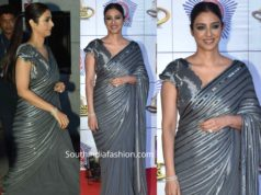 tabu in grey saree at umang 2020