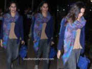 upasana konidela airport look in jeans