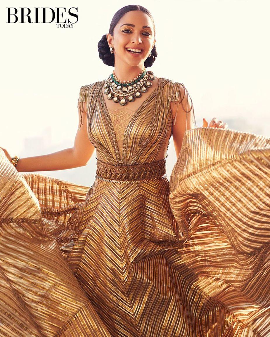 Kiara Advani For The Brides Today Magazine