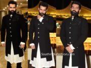 actor ram pothineni in manish malhotra sherwani