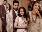 actress bhama and arun wedding reception