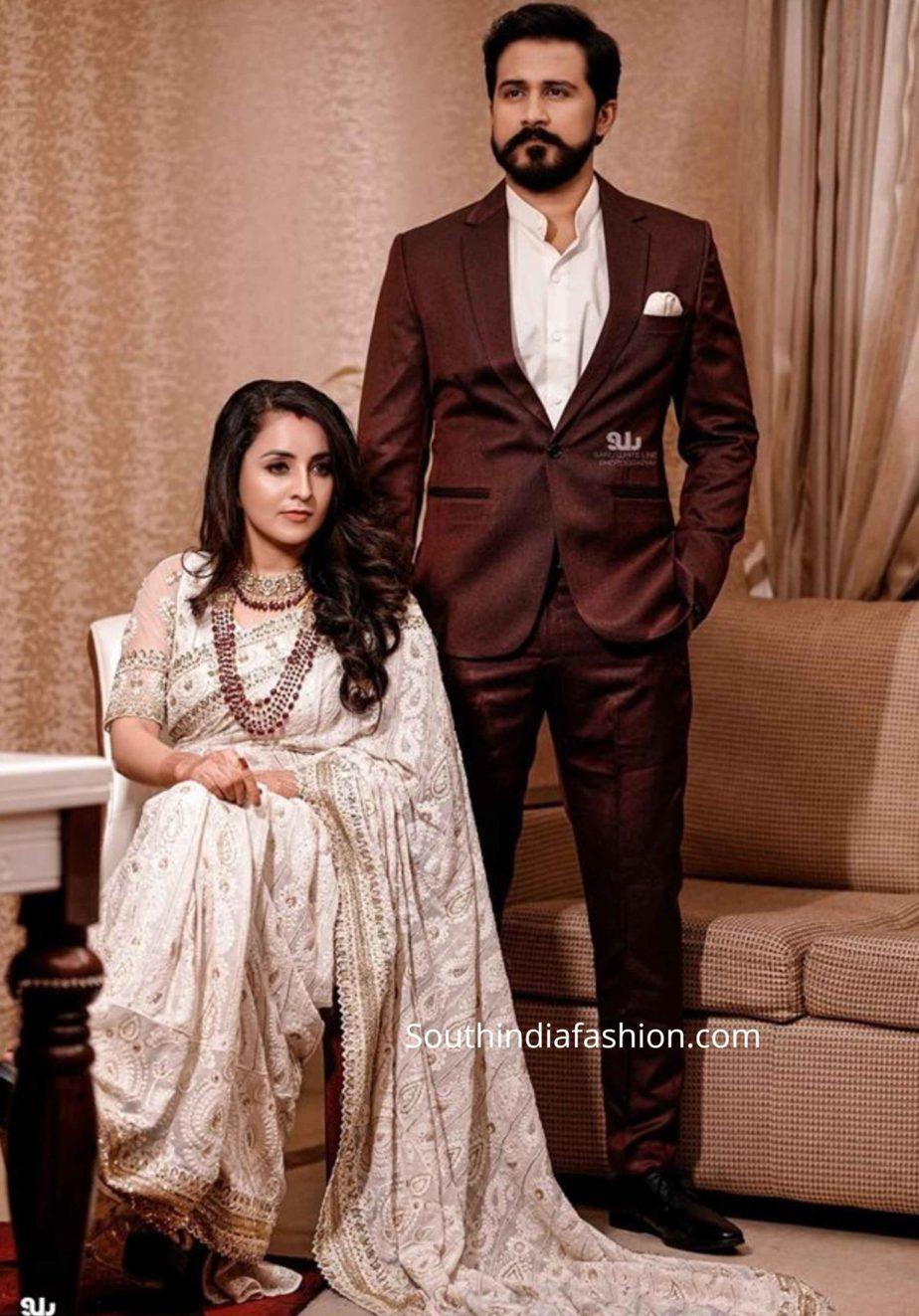 actress bhama and arun wedding reception