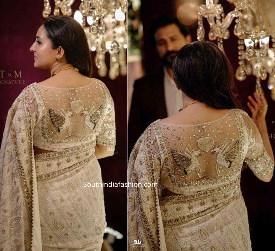 actress bhama wedding reception photos (3)