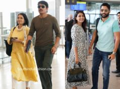 akkineni family at airport