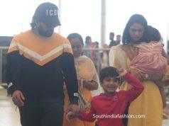 allu arjun family snapped at airport (4)