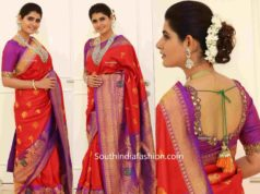 ashima narwal in traditional saree