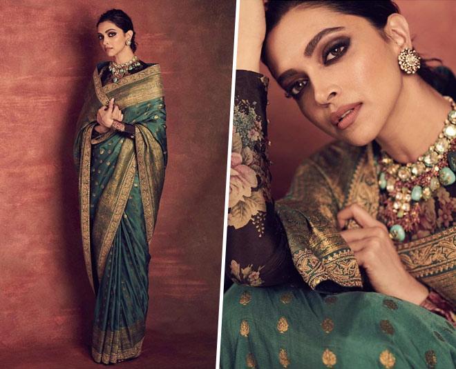 Deepika Padukone's Most Enchanting Recent Sabyasachi Looks!