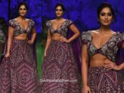ileana in mrunalini rao lehenga at lakme fashion week 2020