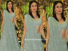 kareena kapoor in manish malhotra lehenga at armaan jain wedding reception