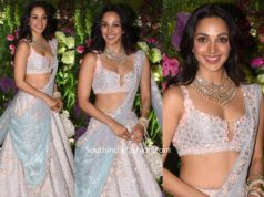 kiara advani lehenga at armaan jain wedding