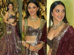 kiara advani lehenga at armaan jain wedding reception (2)