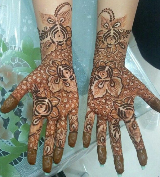 floral simple mehndi design 2020