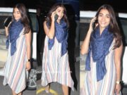 pooja hegde casual look dress