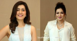 raashi khanna and catherine tresa at word famous lover trailer launch