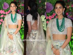 radhika merchant lehenga at armaan jain wedding reception