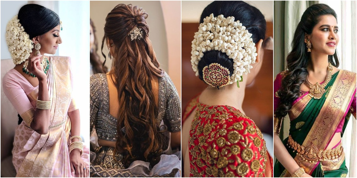 Bridal Hairstyle: Bun or Open Hair – What To Pick What?