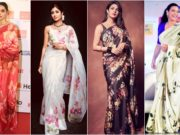 Floral Printed Sarees Are Summer Essentials