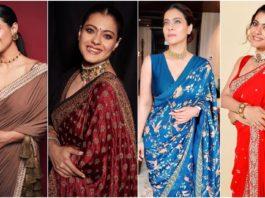 Kajol's 7 Saree Looks That are Super Stylish and Elegant