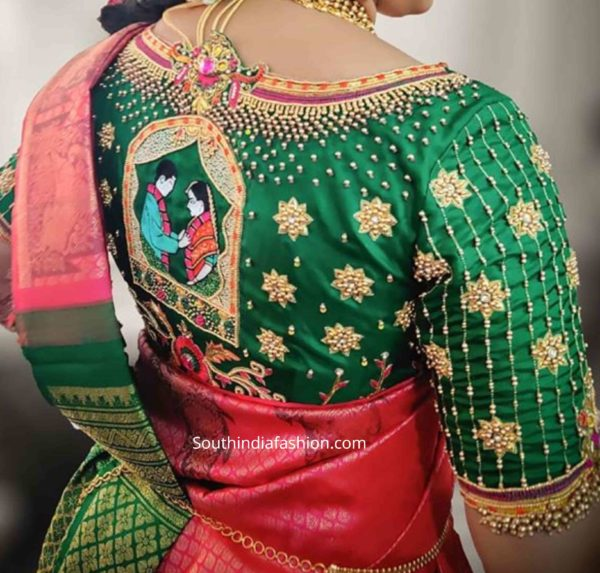 LATEST BRIDAL BLOUSES 2020 FOR PATTU SAREES