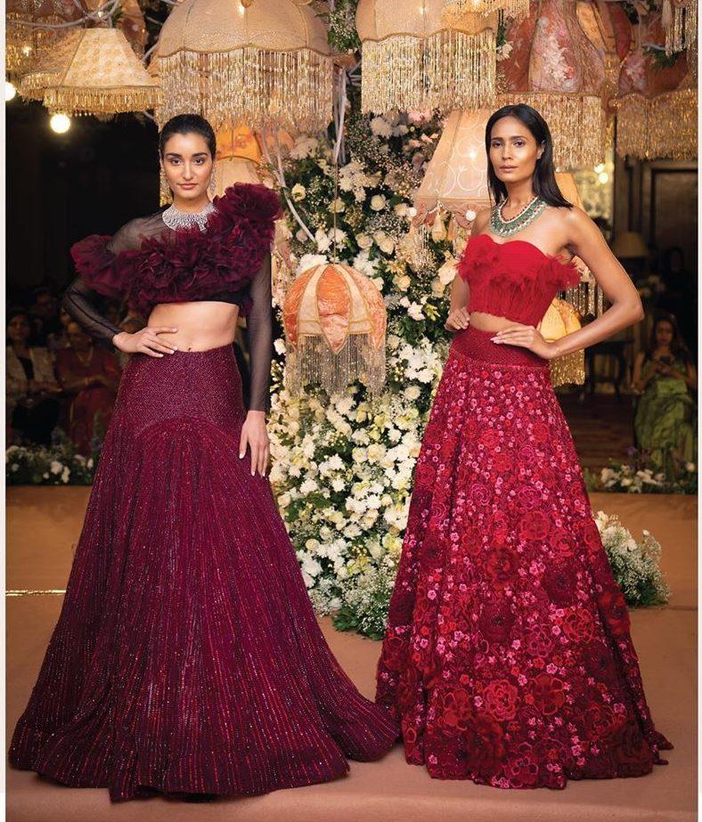 Shriya Som wedding wear gowns