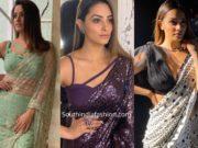 anita hassanandani stylish blouse designs