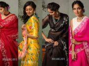 bhargavi kunam summer sarees collection