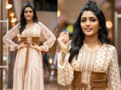 eesha rebba maxi dress