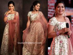 gouri kishan lehenga at master movie audio launch