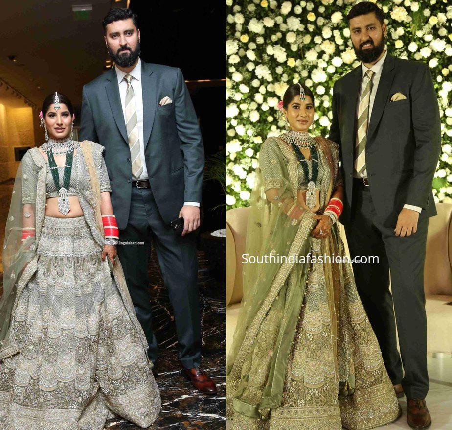 jayasudha son nihar kapoor wedding reception