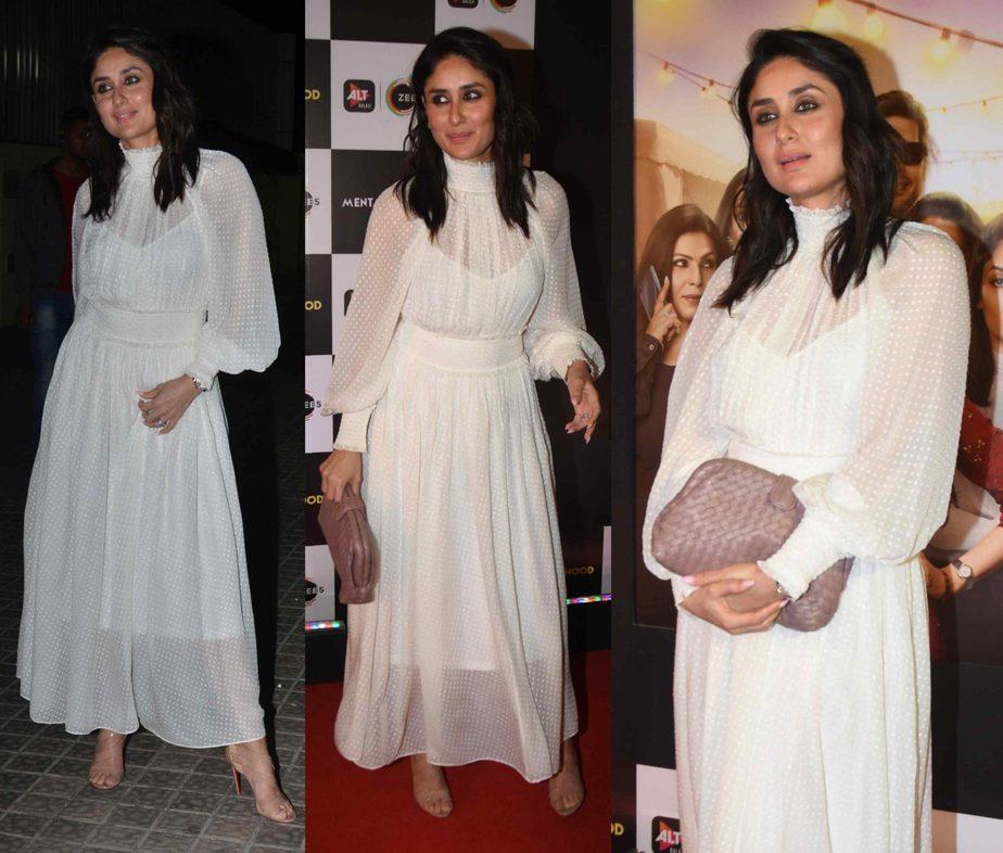 kareena kapoor in white dress