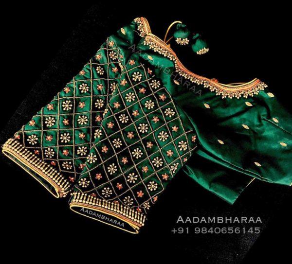 maggam aari blouse designs (2)