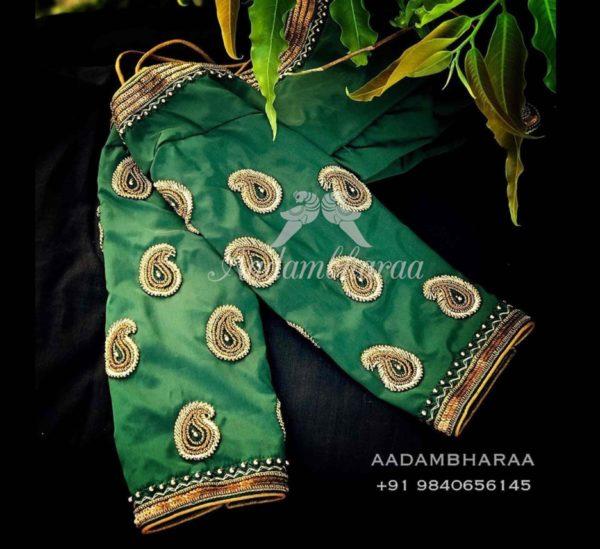 maggam aari blouse designs